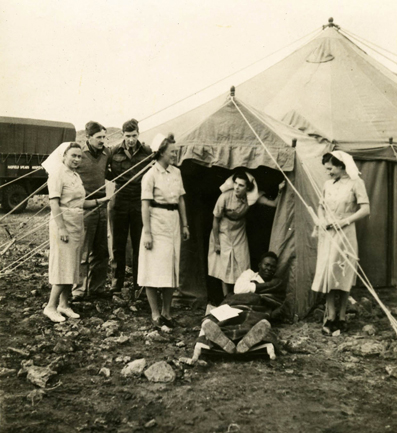 Colonial and Transnational Intimacies: Medical Humanitarianism in the French external Resistance